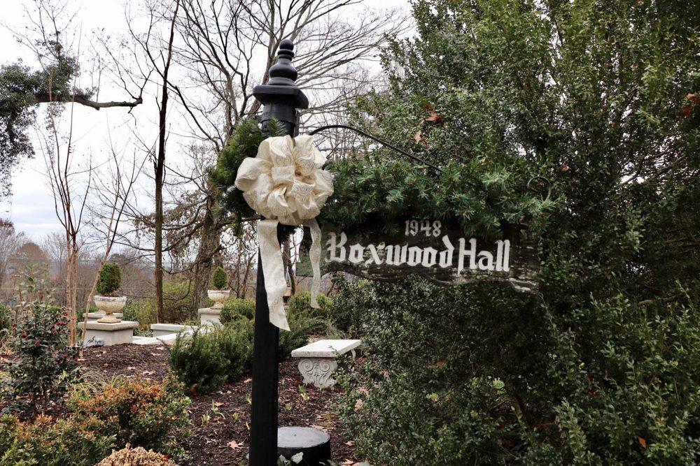 Boxwood Hall Garden
